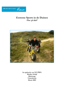 Extreme_Sports in de duinen