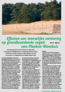 PDF Bijlsma_effect verstoring op vogels
